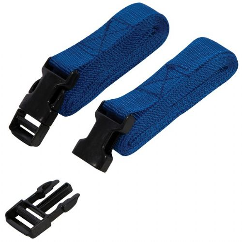 Silverline Clip Buckle Straps Set 2pce